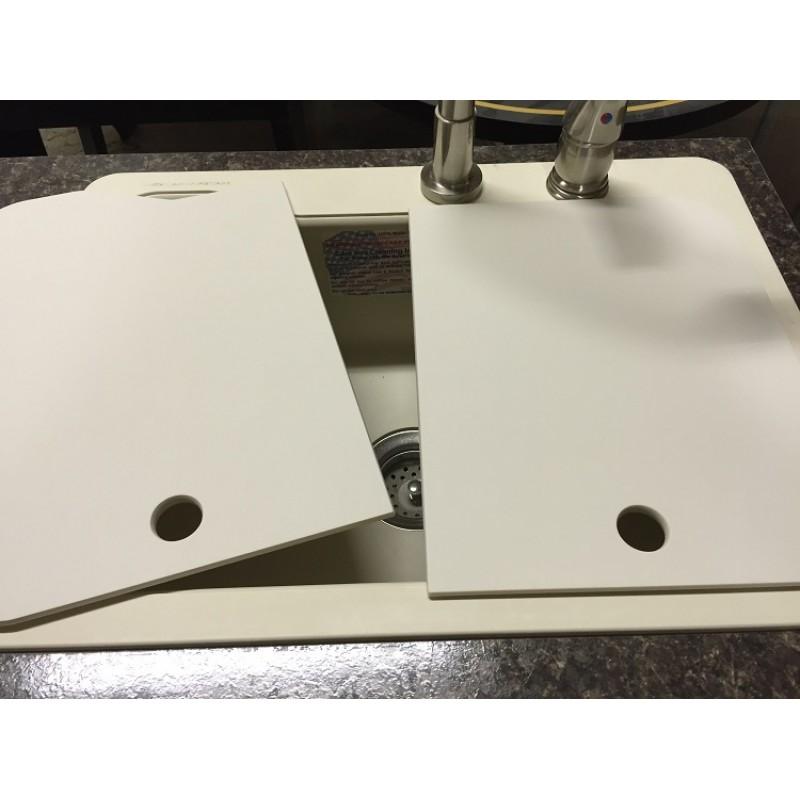 1824 sink covers   creme 18 x 24 u2033 sink covers  u2013 creme  u2013 american stonecast products inc   rh   rv sinks com