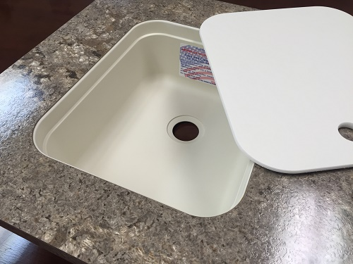 15 X 13 Bar Sink With Cover