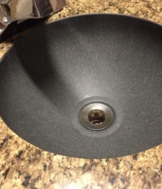 1212 Black Granite Lav Sink